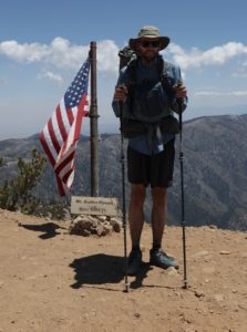 Me at the summit of Mount Baden Powell