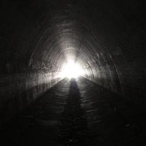Tunnel under the Interstate