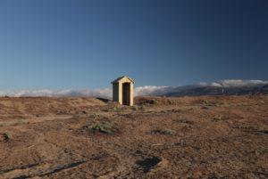 Random concrete hut